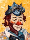 Clown,Color Image,Circus,Sa...