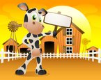 Cow,Milk,Cartoon,Animal,Ba...
