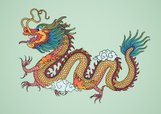Dragon,2012,Year,Old-fashio...