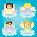 Angel,Cherub,Small,Cartoon,...