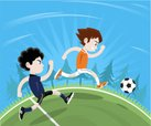 Soccer,Child,Running,Childhoo…