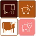 Pig,Cow,Meat,Sow,Piglet,Sym...