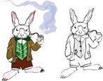 Rabbit - Animal,Smoke - Physi…