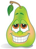 Pear,Cartoon,Ilustration,Ca...