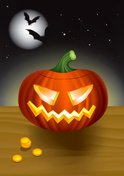 Halloween,Pumpkin,Costume,C...