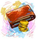Wallet,Coin,Finance,Sketch,...