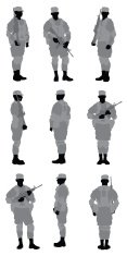Army Soldier,Silhouette,Mil...