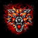 Wolf,Fire - Natural Phenome...