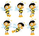 Bee,Cartoon,Insect,Humor,In...