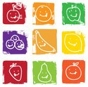 Healthy Eating,Icon Set,Fru...