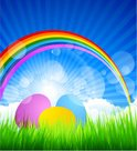 Rainbow,Flower,Multi Colore...