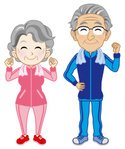 Senior Adult,Exercising,Spo...