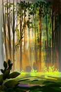 Woodland,Forest,Paintings,S...