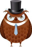 Lawyer,Owl,Top Hat,Animal,T...