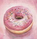Donut,Ilustration,Paintings...