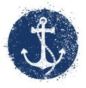 Anchor,Rubber Stamp,Nautica...