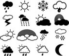 Sun,Rainbow,Icon Set,Rain,L...