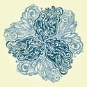 Textured,Floral Pattern,Scr...