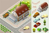 House,Isometric,Residential...
