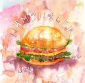 Bread,Watercolor Painting,P...