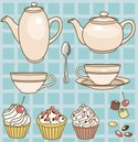Tea Party,Candy,Coffee - D...