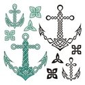 Celtic Style,Anchor,Tied Kn...