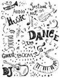 Musical Note,Music,Doodle,S...