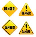 Road Sign,Triangle,Yellow,S...