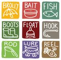 Boot,Fishing Bobber,Ilustr...