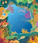 Coral,Underwater,Cave,Cool,...
