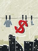 Currency,Clothesline,Money...