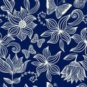Floral Pattern,Butterfly - ...