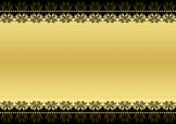 Gold Colored,Banner,Black C...