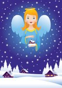 Christmas,Angel,Child,Ether...