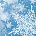 Snowflake,Winter,Background...