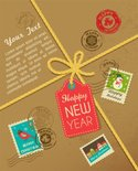 Christmas,Gift,Label,Mail,R...