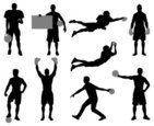 Silhouette,Boxing,Sport,Arm...