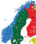 Cartography,Nordic Countrie...