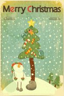 Old-fashioned,Christmas,Sno...