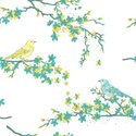 Bird,Branch,Yellow,Cherry B...