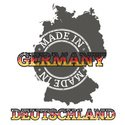 Germany,Rubber Stamp,Flag,M...