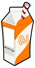 Apple Juice Carton Box Vector stock vectors - Clipart.me