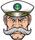 Boat Captain,Anchor,Sea,Sai...