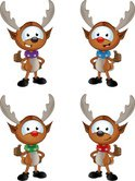 Christmas,Reindeer,Animal,W...