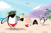 Vacations,Penguin,Summer,Be...