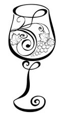 Wineglass,Vector,Wine,Silho...