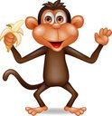 Ape,Monkey,Cartoon,Primate,...
