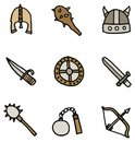 Viking,Symbol,Icon Set,Club...