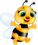 Bee,Cute,Flying,Happiness,...