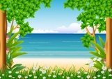 Tree,Summer,Seascape,Color ...